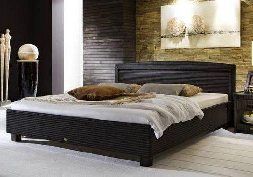 Stilbetten Bett Rattanbett Cabanne 025 Gabana anthrazit-beige 180×200 cm günstig kaufen