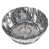 PYREX Stainless Steel VEGETABLE STEAMER Expands to 9""