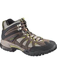 Merrell Mens Ridgeline Mid Ventilator Bracken/Aluminum - Discontinued Leather-And-Mesh Boots 8.5