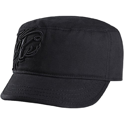 Fox Racing Coliseum Girls Military Casual Hat - Color: Black, Size: One Size