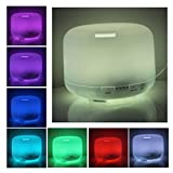Color Our life Aroma Diffuser Ultrasonic Humidifier LED Color Changing Lamp Light Ionizer