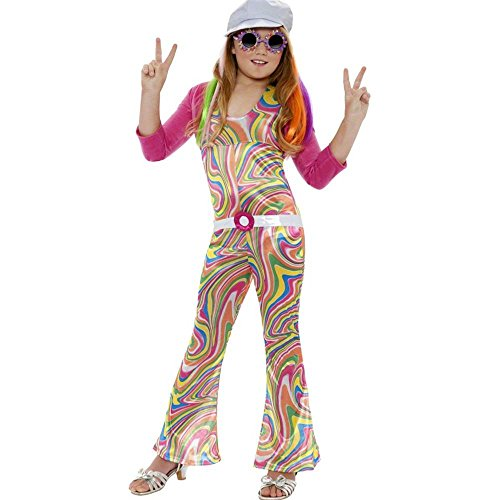 Groovy Glam Hippie Kids Costume