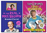 Brendan O'Carroll & Brian Beacom Mrs Browns Boy's Book Bundle (Includes The Real Mrs. & Mrs Brown's Family Handbook)