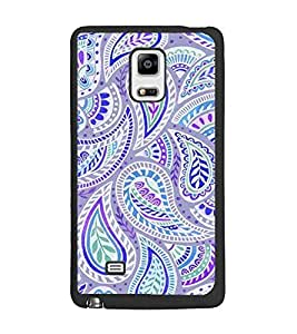 PrintDhaba Pattern D-2131 Back Case Cover for SAMSUNG GALAXY NOTE EDGE (Multi-Coloured)