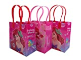 DISNEY GOODIE BAGS PARTY FAVOR GIFT BIRTHDAY BAGS (free standard shipping for USA only!) (12x Little Mermaid)