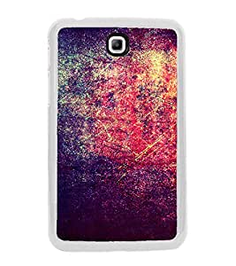 Bright Red Purple Pattern 2D Hard Polycarbonate Designer Back Case Cover for Samsung Galaxy Tab 3 8.0 Wi-Fi T311/T315, Samsung Galaxy Tab 3 8.0 3G, Samsung Galaxy Tab 3 8.0 LTE