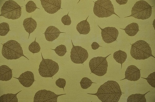 Lemon BDPP GOLD LEAVES ON LEMON BASE PREMIUM WRAPPING PAPERS