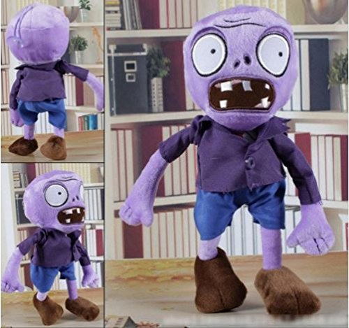 NEW ARRIVAL 30CM 12'' Plants vs Zombies Soft Plush Toy Doll Game Figure Statue Baby Toy for Children Gifts #5 by (Zombie Cartoon Characters)