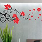 Floral Leaves Wall Decal