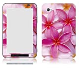 Bundle Monster Samsung Galaxy Tab 7.0 Vinyl Skin Cover Art Decal Sticker Protector Accessories - Aloha Plumeria