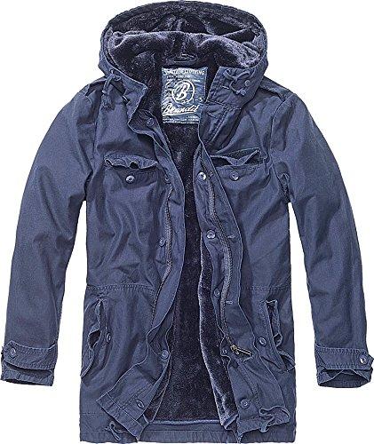 Brandit AF Parka Giacca blu navy 4XL