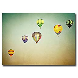 In Flight by Irene Suchocki Premium Oversize Gallery-Wrapped Canvas Giclee Art (Ready-to-Hang)