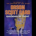 Shadows in Flight (       UNABRIDGED) by Orson Scott Card Narrated by Stefan Rudnicki, Emily Janice Card, Scott Brick, Orson Scott Card, Kirby Heyborne