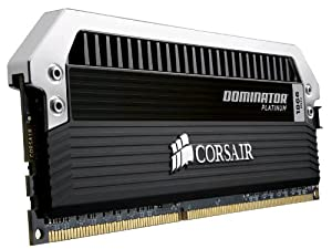 Corsair Dominator Platinum 16GB (2x8GB) DDR3 1866 MHZ (PC3 15000) Desktop Memory (CMD16GX3M2A1866C9)