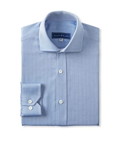 Alton Lane Men's Herringbone Dress Shirt