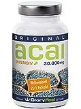 """ACAI INTENSIV - höchste Konzentration (25:1), 30000 mg Acai pro Tagesdosis, 120 Tabletten reines Acai Berry Extrakt, inklusive KOSTENLOSEM E-BOOK: """"Auf natürliche Weise wohlfühlen und abnehmen"""""""