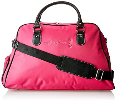 Sydney Love Fuchsia Golf Shoulder Shoe Bag Travel Tote by Sydney Love
