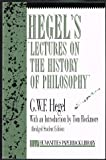 Hegel's Lectures on the History of Philosophy (Humanities Paperback Library) (0391039571) by Hegel, Georg Wilhelm Friedrich
