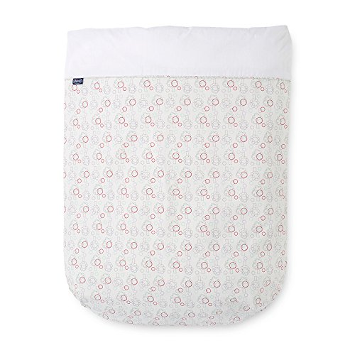 Chicco 79360 Lettino Set Tessile, Colore Nature