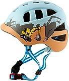 """AWE® """"The Digger"""" Fahrrad Kinder Jungen Helme Blau In-Mould 48-52cm"""