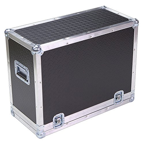 Amplifier 1/4 Ply ATA Light Duty Case with Diamond Plate Laminate Fits Hughes & Kettner Tube 50
