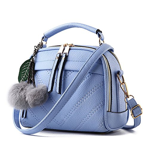 Allway-store-Women-Portable-Crossbody-Handbag-with-Leather-Chain-Strap-Tote-Bag