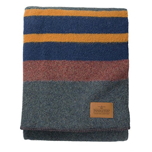Pendleton Twin Camp Blanket Without Carrier - Lake front-555638