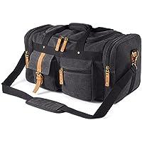 Plambag PB086DG Oversized Canvas Duffel Bag