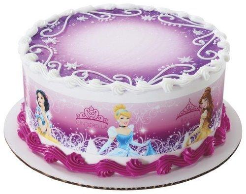 Disney Princess Edible Cake Border Decoration - 1