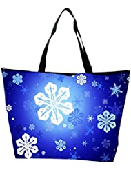Snoogg Abstract Christmas Pattern Designer Waterproof Bag Made Of High Strength Nylon
