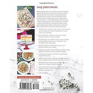 Easy Paleo Meals: 150 Glu Livre en Ligne - Telecharger Ebook