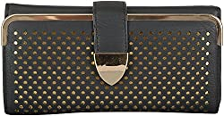Moda King Women's Handbags (Black) (ModaKing040_A)