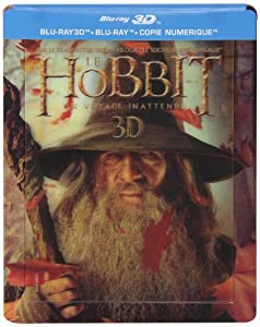 Le Hobbit : Un voyage inattendu [Combo Blu-ray 3D + Blu-ray + Copie digitale - Édition boîtier SteelBook]