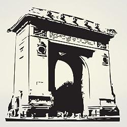 Vinyl Wall Decal Sticker Arc de Triomphe France #377