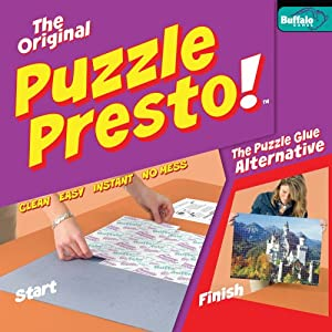 Buffalo Games Puzzle Presto Peel & Stick Puzzle Saver