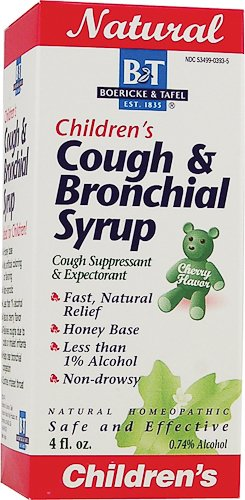 Boericke And Tafel - Childrens Cough Bronchial Syrup 4 Ounce
