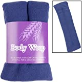 Lavender Scented Microwavable Wheat Warmer Navy Cushion Wrap Aches Pain Soothing