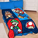 Super Mario Time To Team Up 50 By 60 Inch Microraschel Throw Blanket