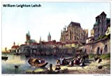 img - for 38 Color Paintings of William Leighton Leitch - Scottish Landscape Watercolour Painter and Illustrator (Nov 22, 1804 - April 25, 1883) book / textbook / text book