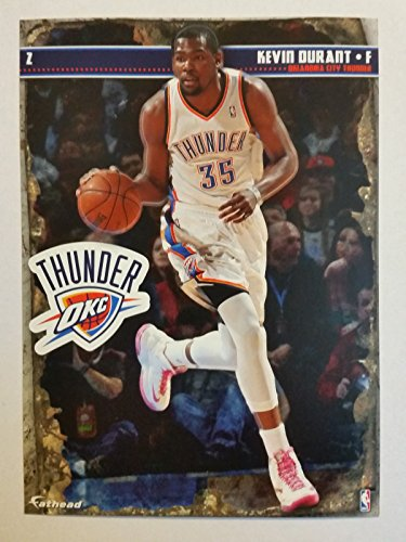 2013-2014 NBA Kevin Durant Fathead Tradeable Decal + Mini Pennant