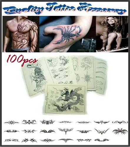 100 Pcs Tattoo Practice Skin Great Design High Quality Best Price