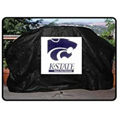 Buy NCAA Kansas State Wildcats 68-Inch Grill Cover by Seasonal Designs