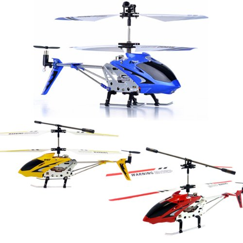 Syma S107 Helicopter 3 Combo SEt - Red, Yellow and Blue Bundle + Extra!
