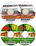 How to Sell Your Stuff on Amazon.com and eBay 4 CD 's