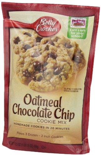how to make betty crocker oatmeal chocolate chip cookies