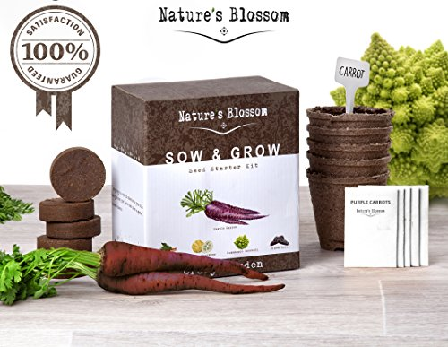 Grow 5 Exciting Vegetables With Nature 39 S Blossom Grow Kit The Most Uniqu
