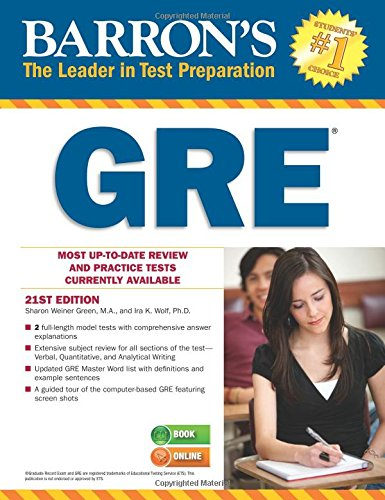 Barron's GRE, 21st Edition