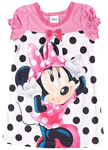 Disney Minnie Mouse Toddler Girls Dot Nightgown