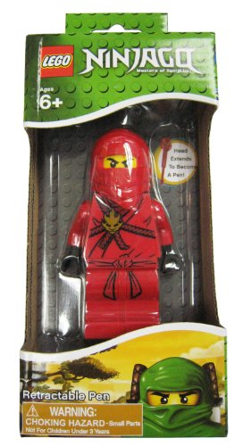West Designs LEGO Ninjago Pen Red