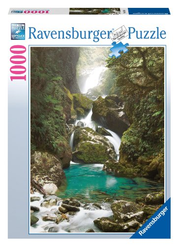 Mackay Falls, New Zealand 1000 Piece Puzzle